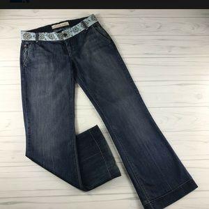 RARE Joes Jeans Vintage 1971 Garcia 27 Embroidered